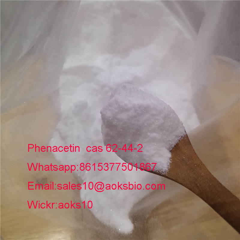 Phenacetin china factory shiny crystal powder fast delivery safe clearence cas 62-44-2