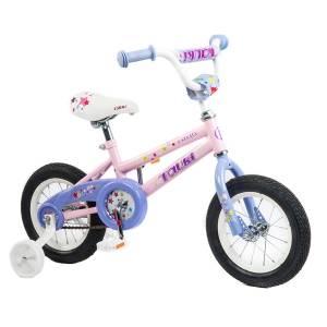 Tauki ESTELLA 12 inch Princess Kid Bike, Pink