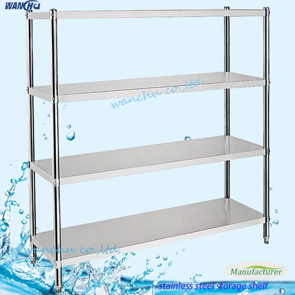Stainless Steel Flat Type Storage Shelf