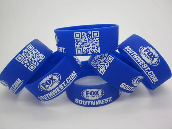 customized silicone bracelet, high quality silicone rubber