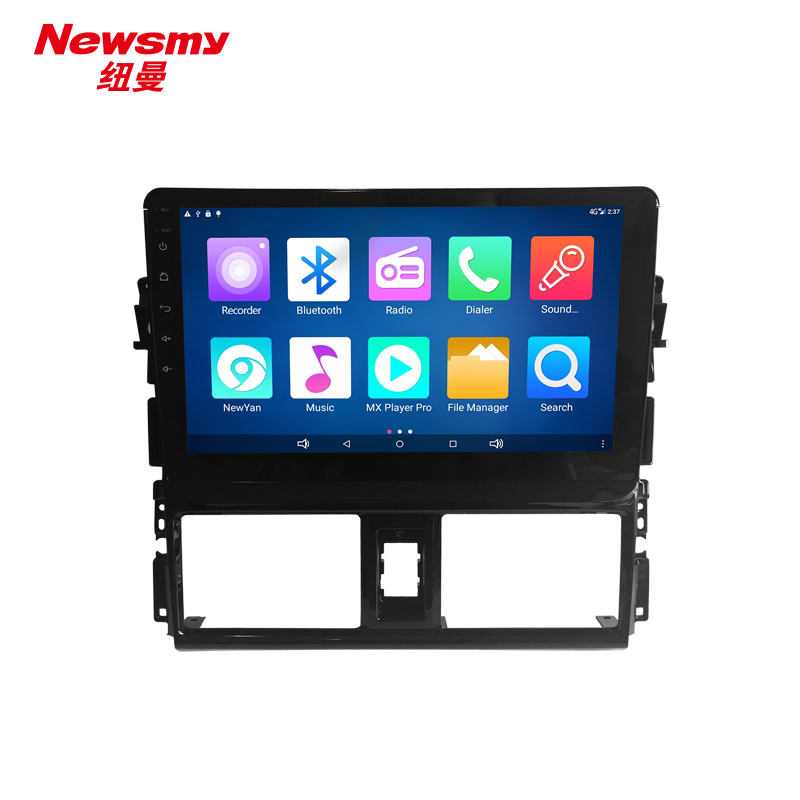 NM7119-H-H0 (Toyota Vios 2014-2016) no canbus Newsmy CarPad4 head unit Android 5.0 with Newyan APP