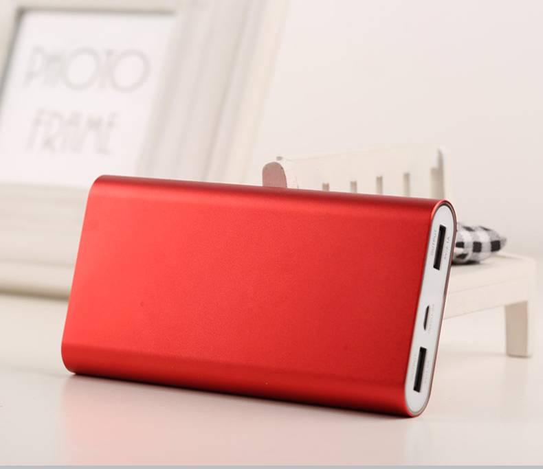 50000mAh Dual USB Aluminum Alloy Case High Capacity Power Bank Charger
