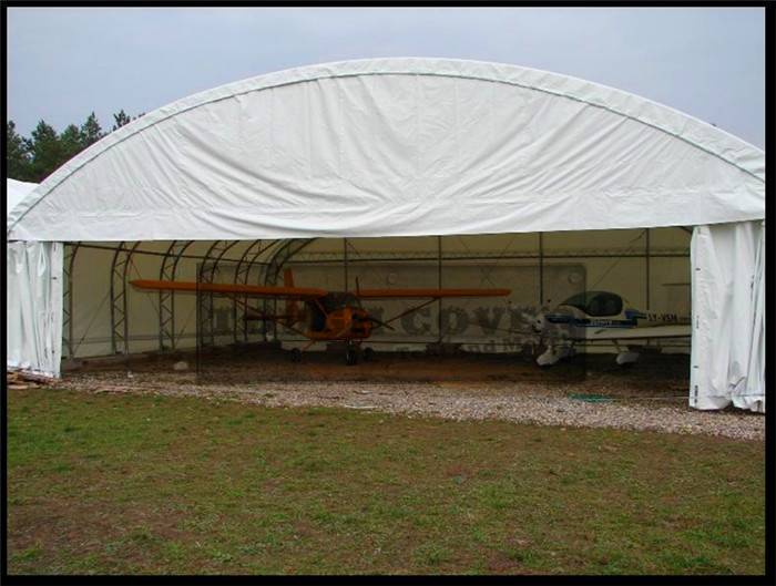 Aircraft Hangar, Prefabricated Truss Building TC463016, TC463616, TC464216, TC464816