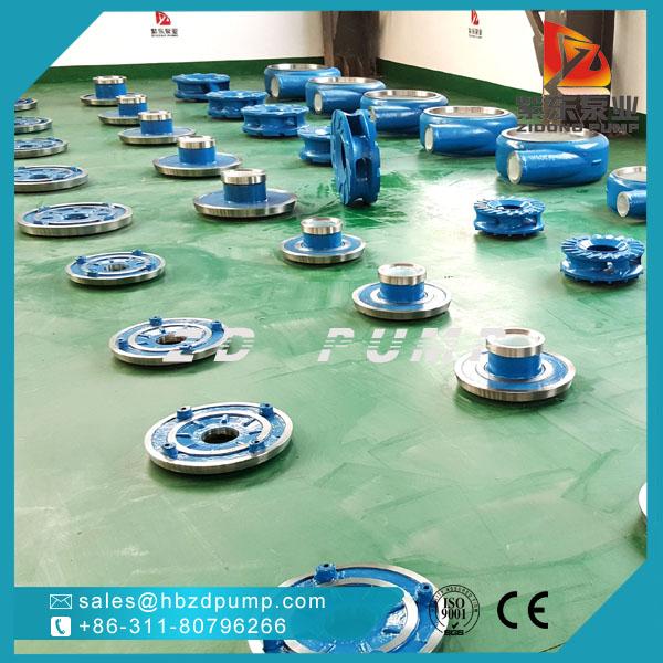 high chrome alloy slurry pump impeller ash pump parts