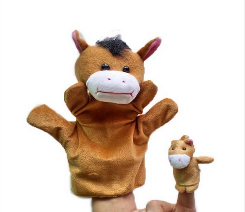 Plush Animal Hand Puppets Stuffed&Plush Toys Toys Soft Toys/Peluche Marionnettes Main/Peluche Di Man