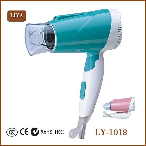 New Home Household 220v 900w Travel Portable Foldable Hair Dryer