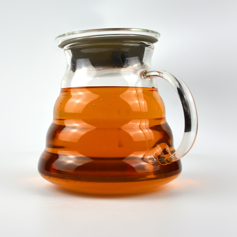 HOT Wholesale Low Price Mouth Blown Glass Tea Cup With Filter