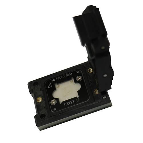 eMMC KLM4G yellow Test seat spot gold test socket adapter For Samsung