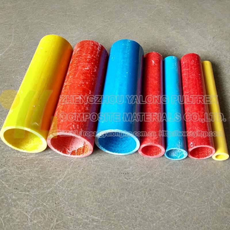 FRP extruded profiles hollow fiberglass tube