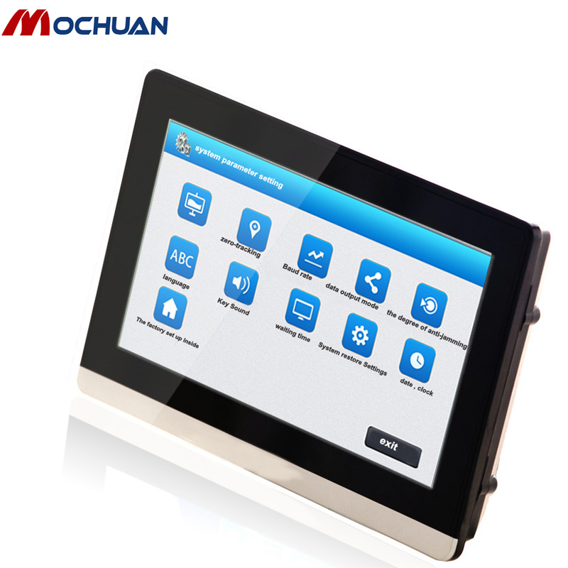 economic DC24v tft lcd interactive hmi touch screen inwall for brand plc