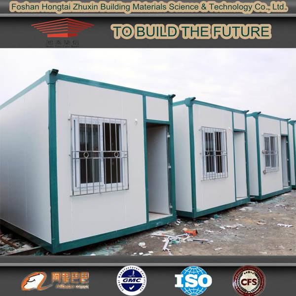 Portable modified prefabricated shipping container home