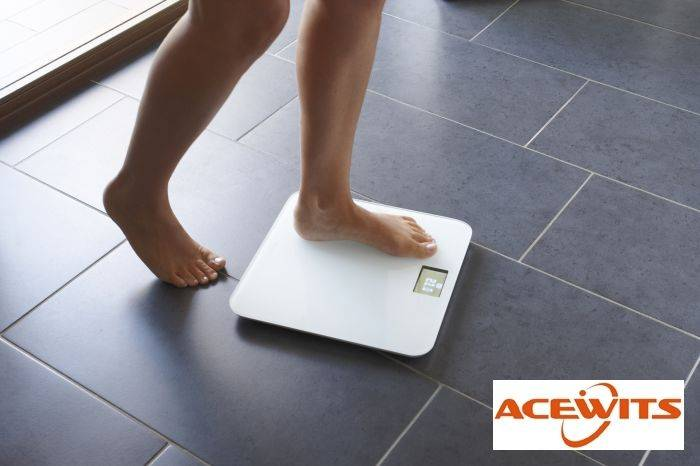 Health and Fitness Goals Will Be Reached Using Acewits bluetooth Smart Scale