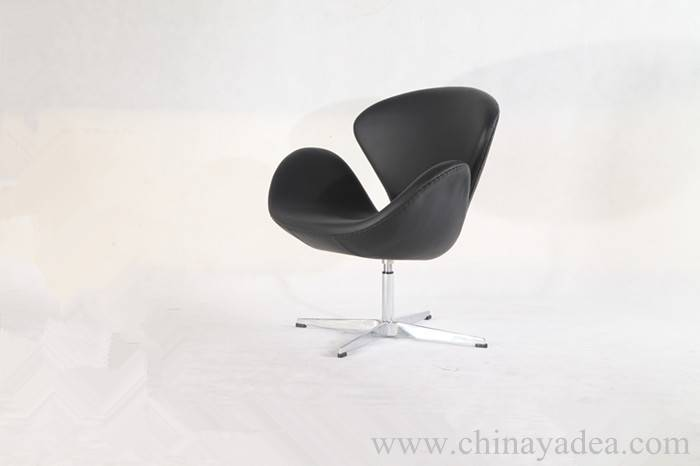 Leather Arne Jacobsen Swan Chair Replica with affordable price