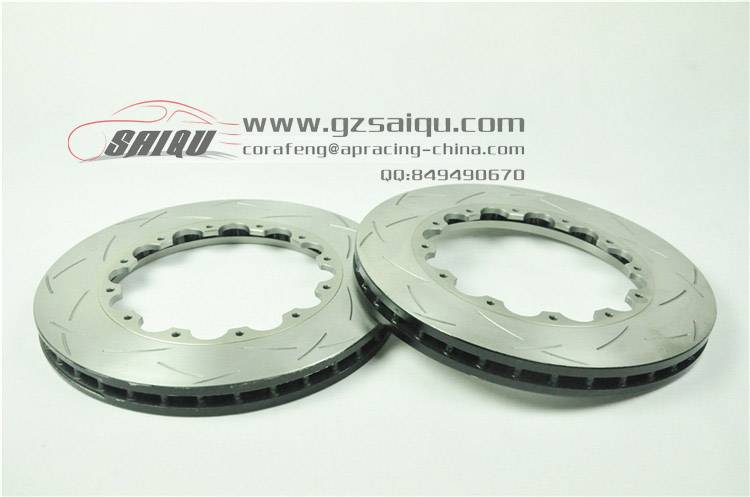 DICKASS Auto Brake Disc 355*32 T3 Curved Grooves Surface