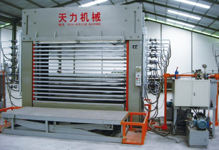 Plywood 600t hydraulic hot press machine