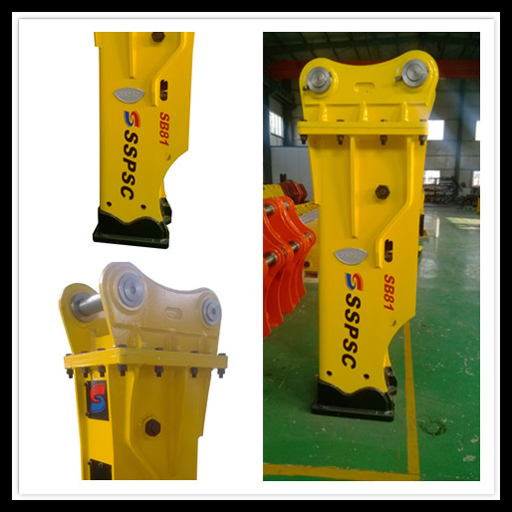 silenced-box hydraulic breaker hammer