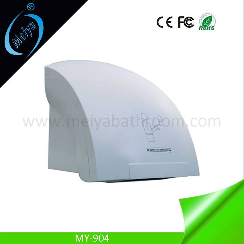 wall mounted automatic hand dryer for hotel