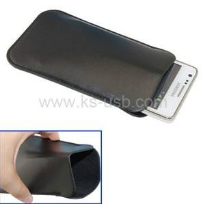 PU Leather Pouch Case for Samsung Galaxy S2 i9100