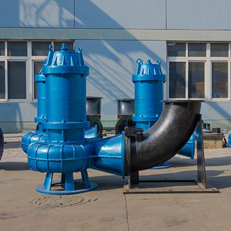 Coupling sewage pump