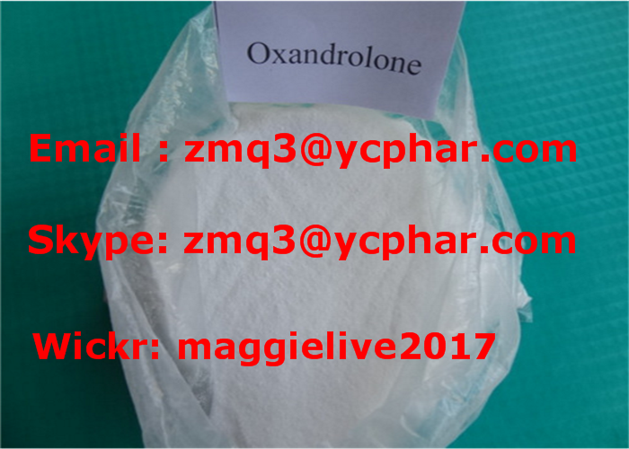 Purity 99% CAS: 53-39-4 Oxandrolone Anavar for Anabolic Steroid