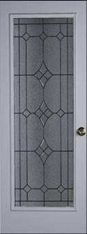Entry Iron Strip Glass Door