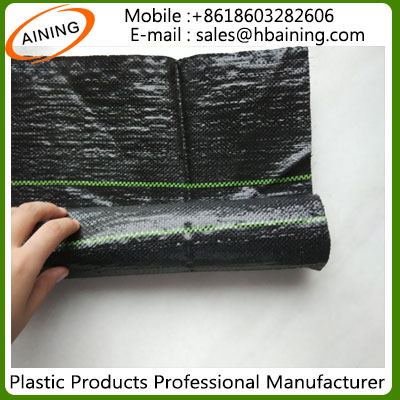 HDPE PP Woven Plastic Agricultural Ground Cover