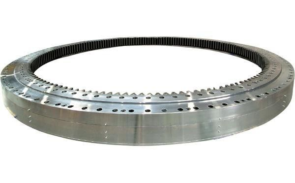 A PC210LC-7K excavator swing bearing PC200-7K slewing ring