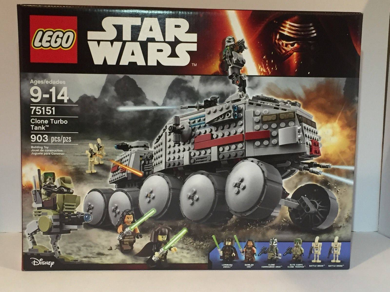 Lego 75151 Clone Turbo Tank Set
