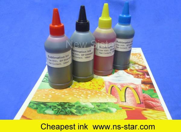 Sublimation ink for inket printing used for DX4/DX5/DX6/DX7 printhead