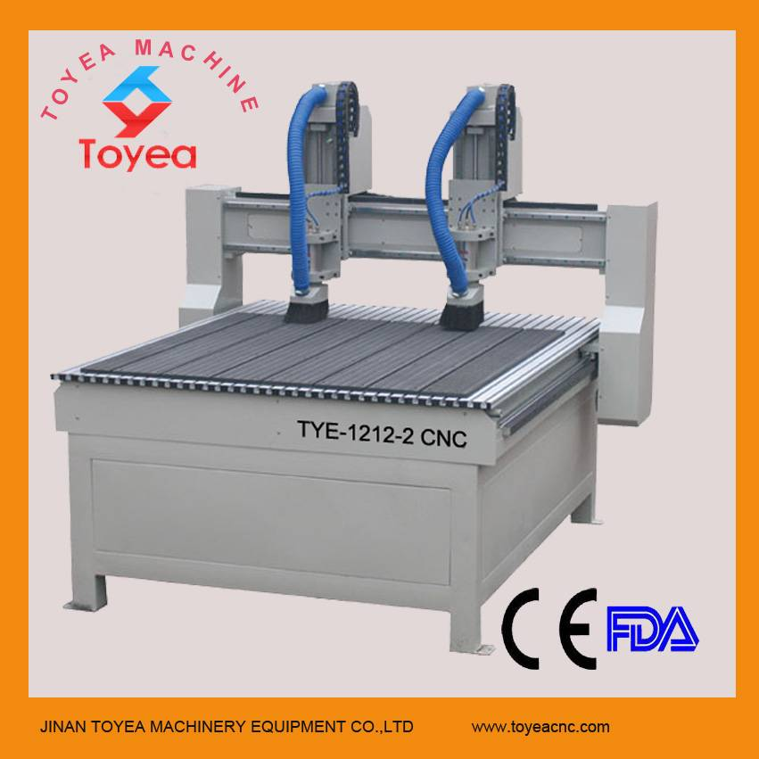1212 double heads CNC Wood router machine