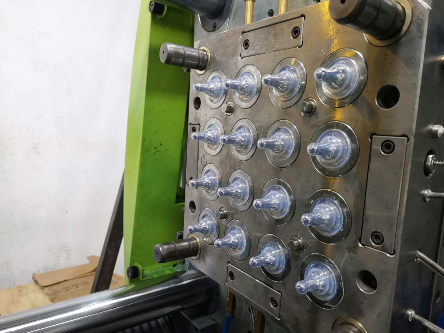 Liquid Silicone Rubber (LSR) baby nipple mould