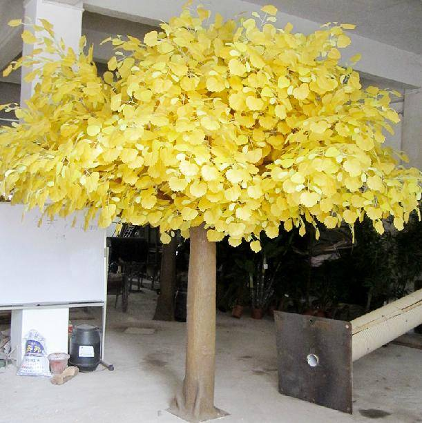 artificial   Populus tree(with golden color)