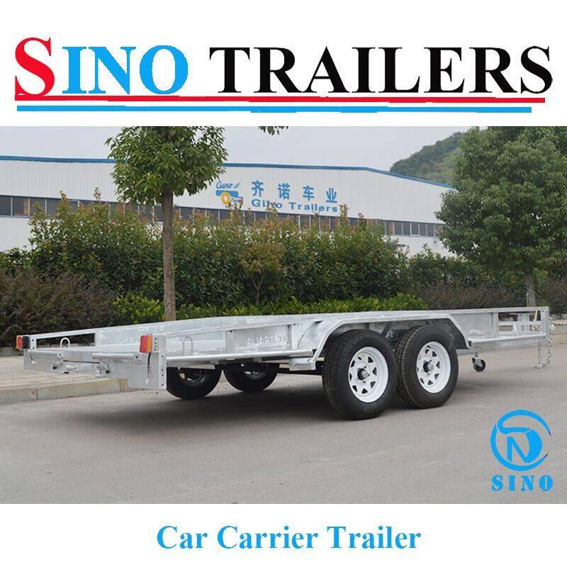 Dual Axle Heavy Duty Car Carrier Trailers
