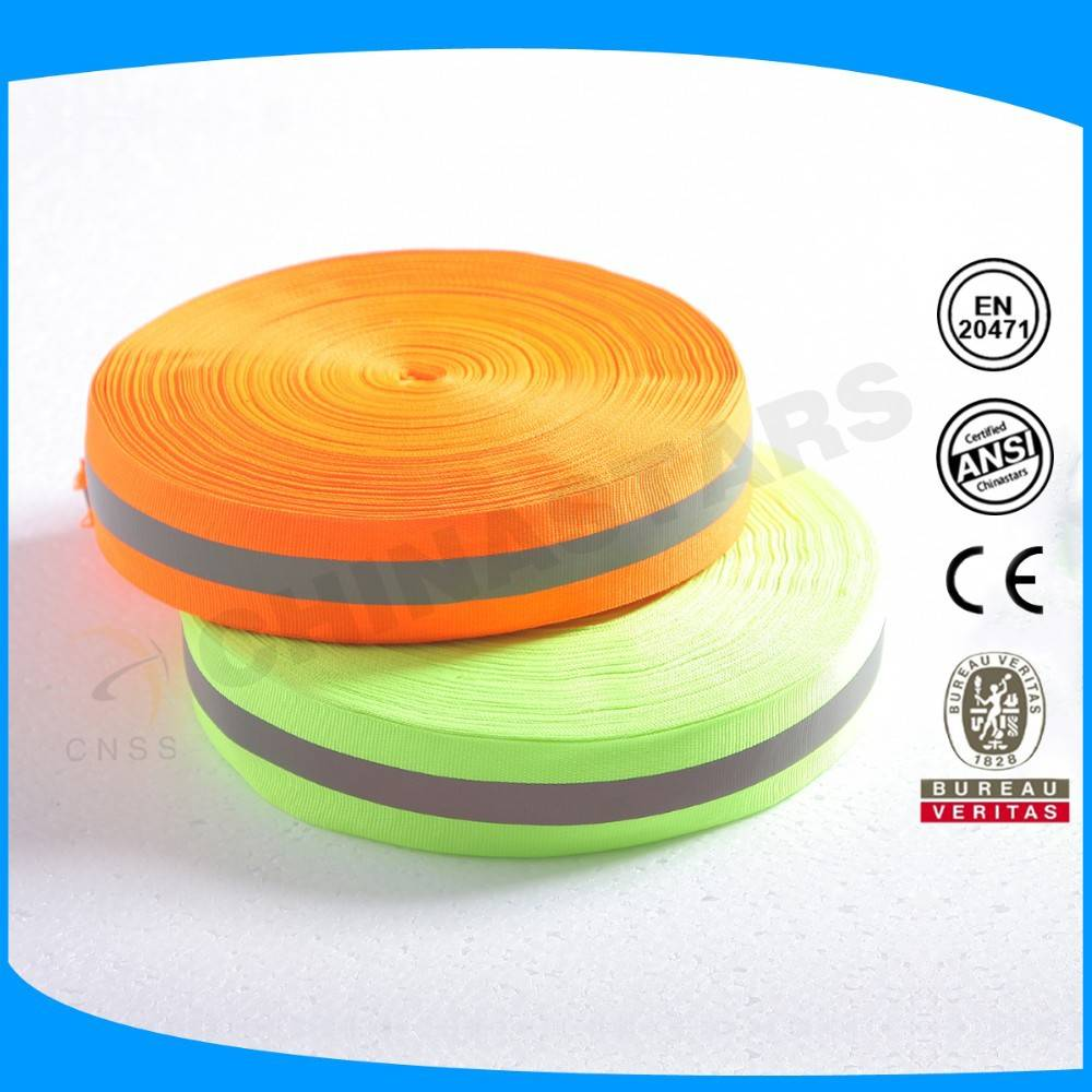 various style sew on reflective webbing for clothes