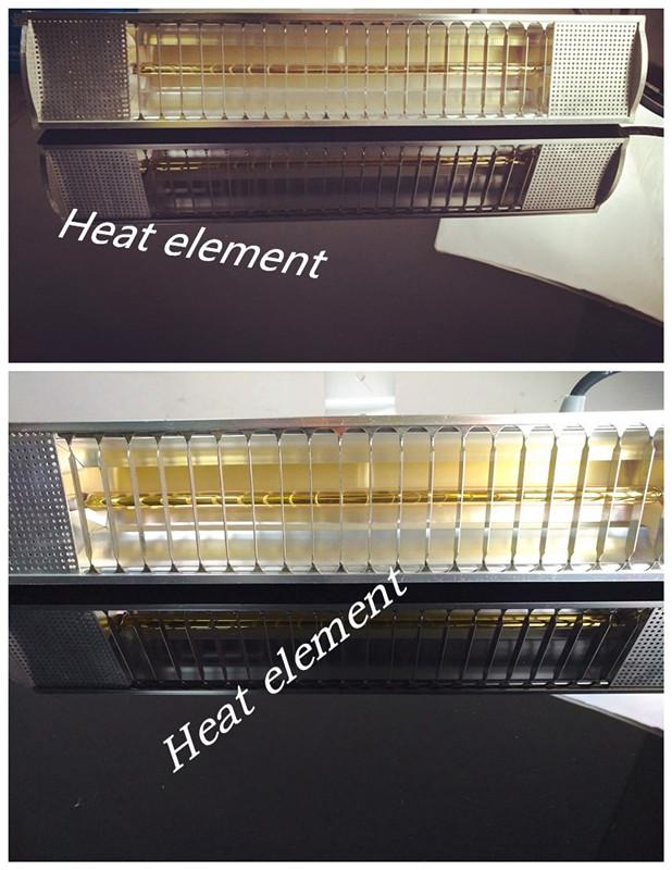 Quartz Tube Patio Infrared Heaters