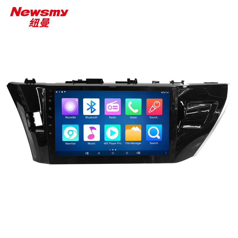 NM7120-H-H0 Toyota Corolla 2014 Newsmy CarPad4 head unit Android 5.0 with Newyan APP