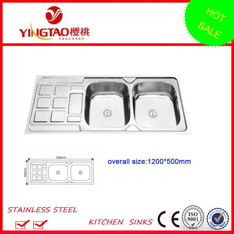 stainless steel sinks,single bowl single drainer sinks for wholesale