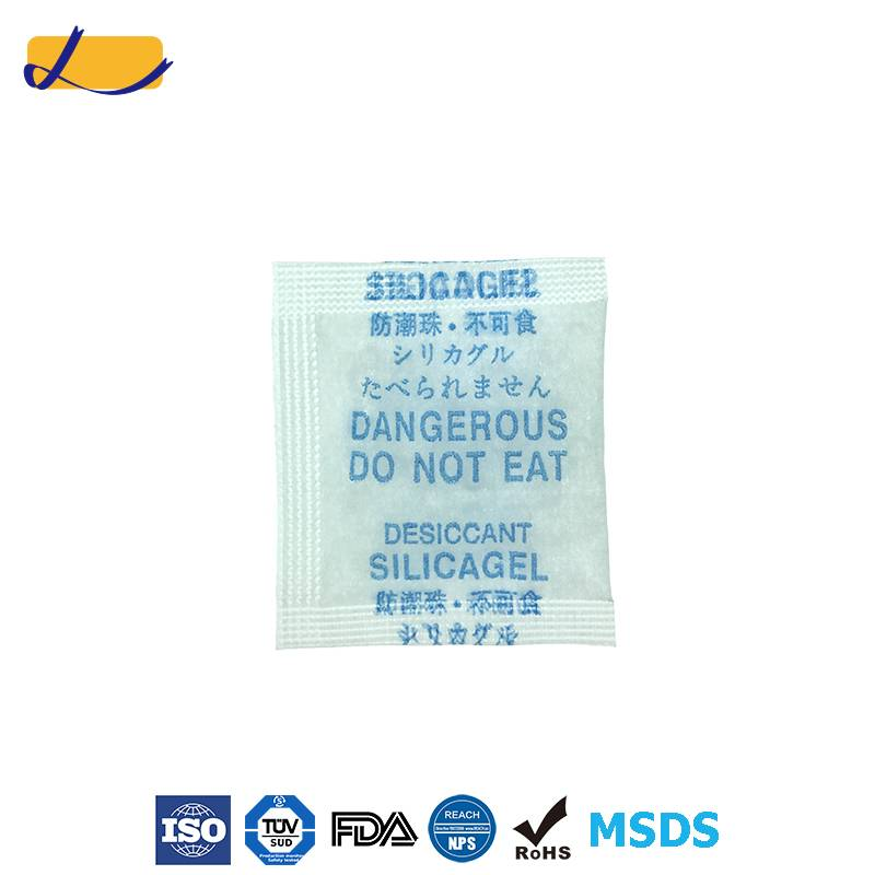 MSDS Approved silica gel desiccant From ISO Factory