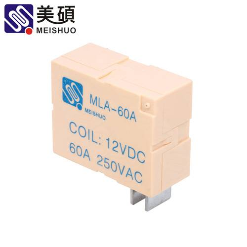 MEISHUO MLA 60A Latching relay 250VAC 1B relay latch relay