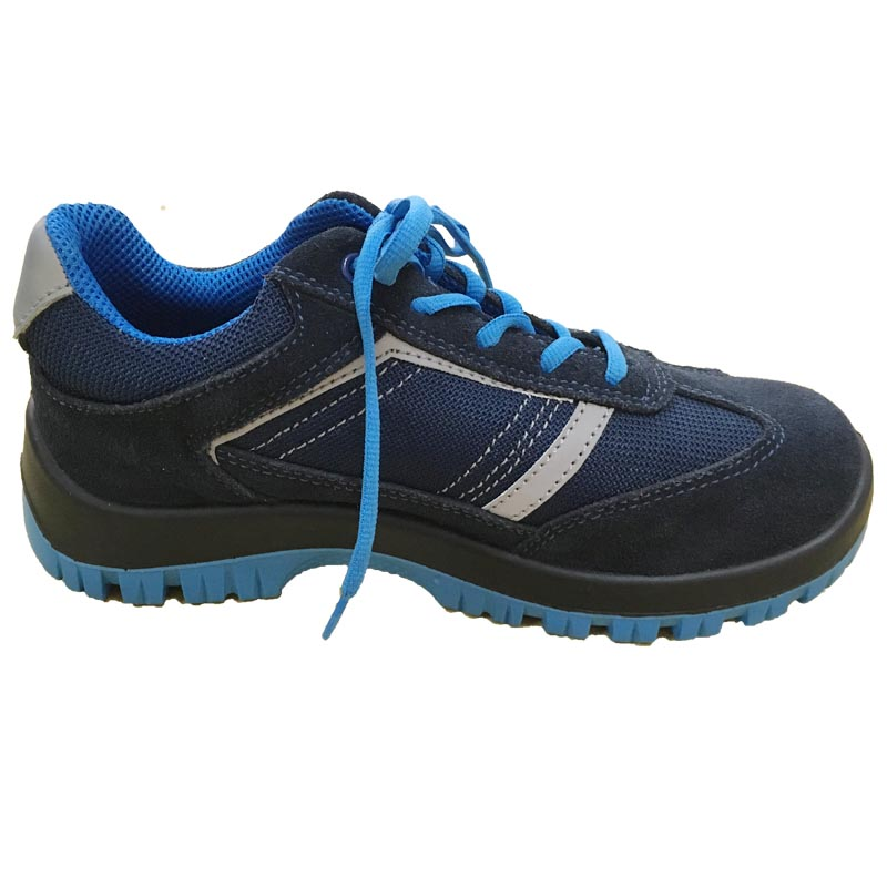 Lightweight PU Sole Suede Upper Anti-Slip Sport Shoes