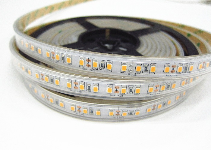 120LEDs Per Meter Waterproof Outdoor Indoor TMD2835 LED Strip Lights Warmwhite 3000k 5000k 6500k CE