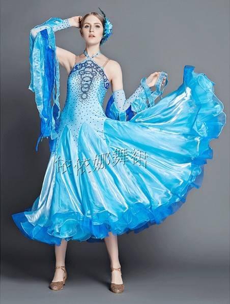 Custom-Made Ballroom Dancewear For Women Dancewear