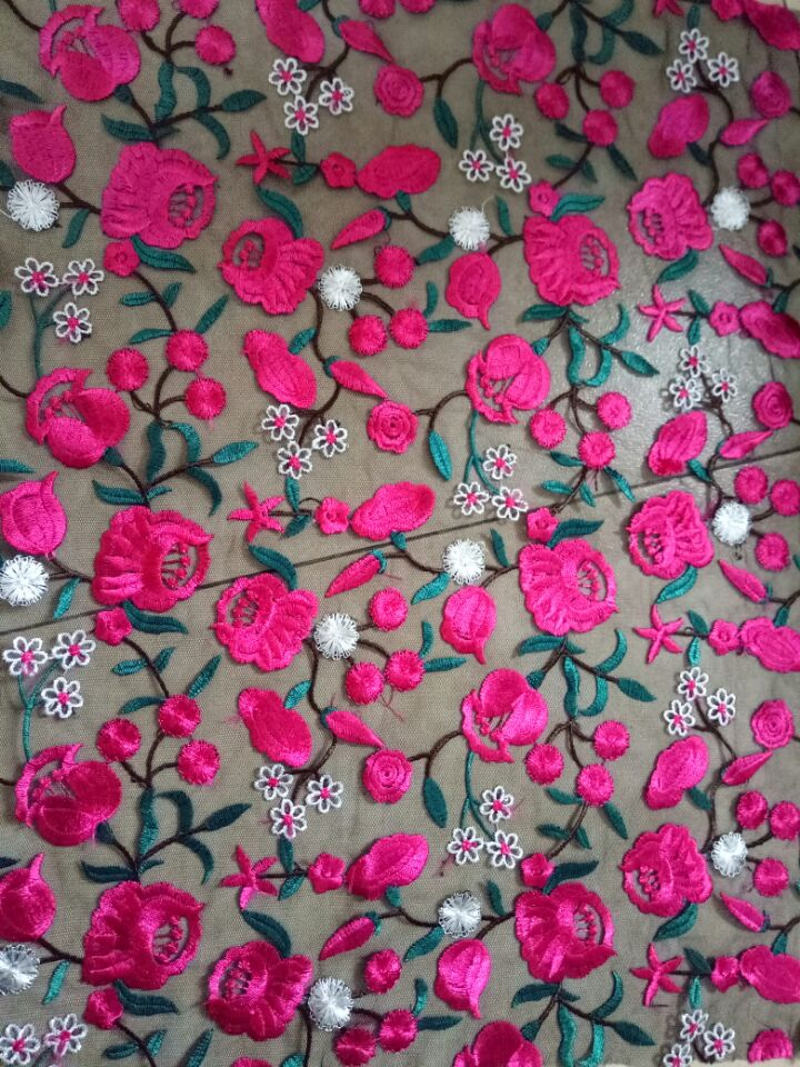 polyester colored fabric