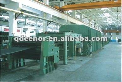 conveyor belt vulcanizing machine