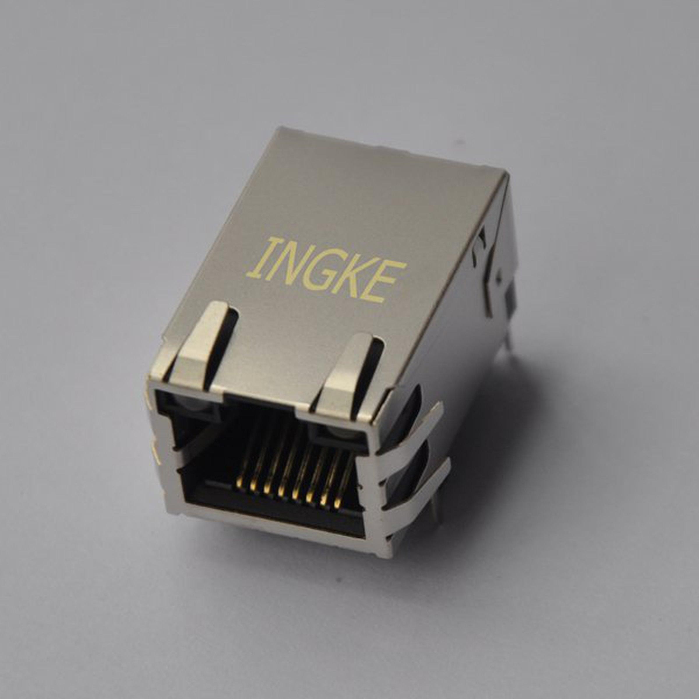 JD1-0001NL YKGU-8199NL Through Hole Magnetic RJ45 jacks