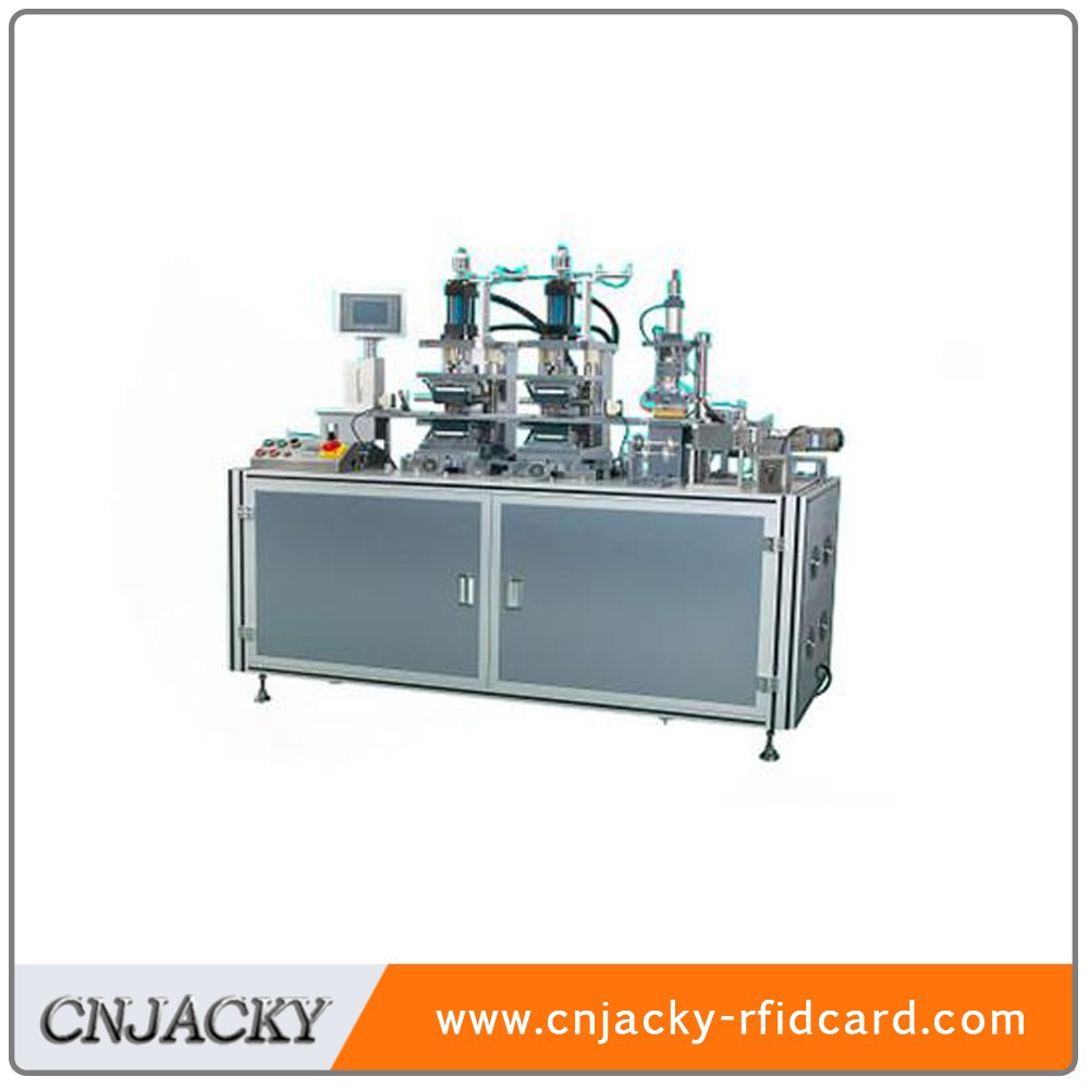TD400 Plastic Card Embossing and Tipping Machine