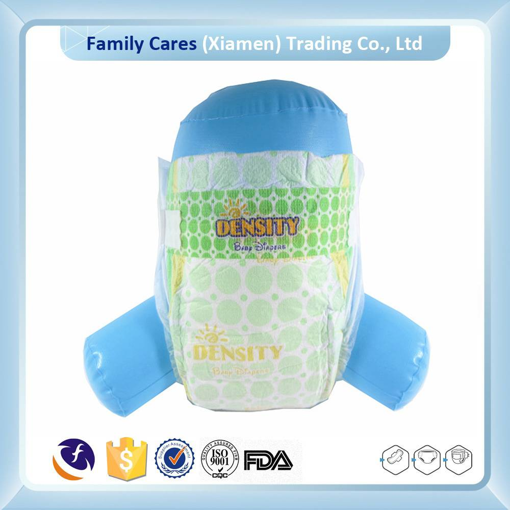 Super thin high absorption feature baby diaper manufacture