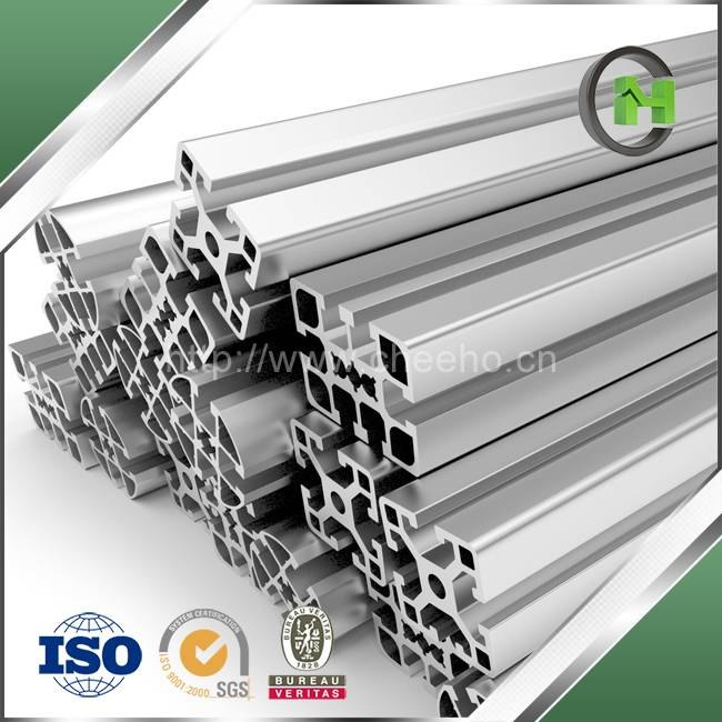 High Quality Anodized Silver Aluminum Extrusion for Bicycle Wheel Rims