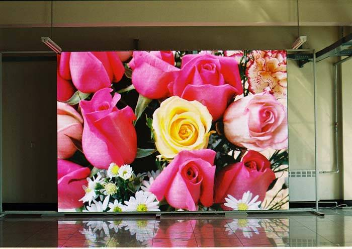 p8 indoor LED exhibition true color screen