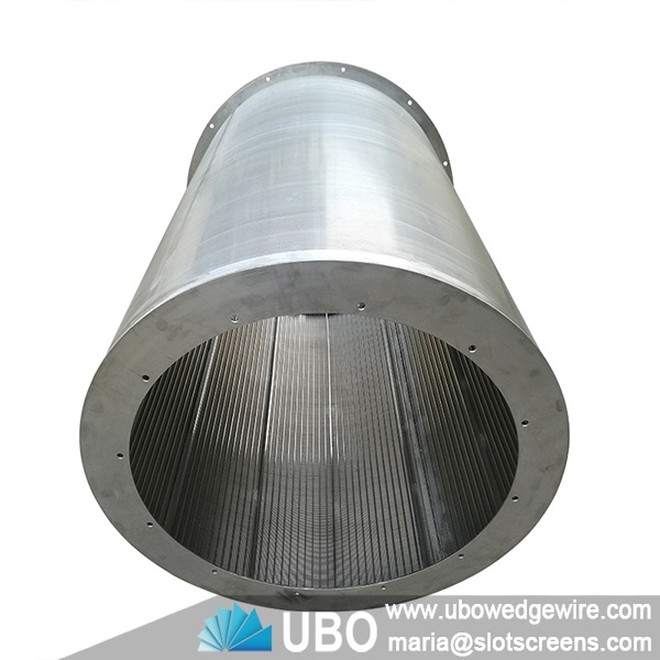 Stainless steel Johnson wedge wire screen cylinder
